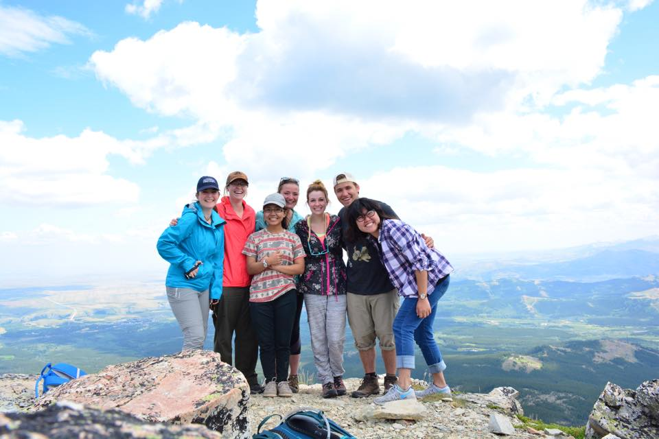 Top of Dancing Lady mountain. Glacier National Park, 2015.