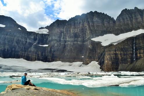 Grinnell Glacier, Glacier National Park, 2015.